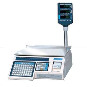 Электронные торговые весы с печатью этикеток